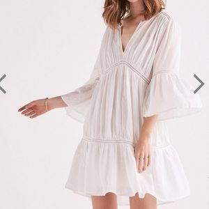 NWOT Lucky Brand Summer Peasant Dress